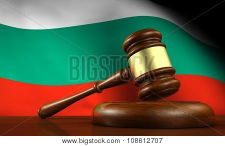 Bulgaria Law Legal System Concept