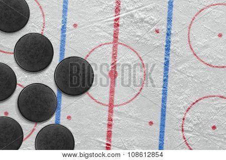 Washers On Hockey Arena
