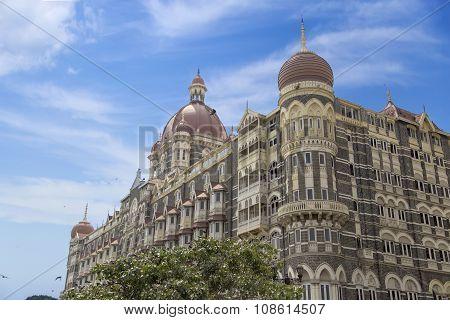 Taj Mahal Palace Hotel In Mumbai, India