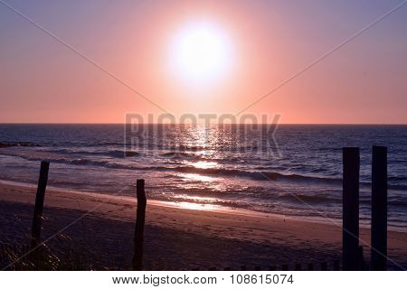 Summer Sunrise on the Beach
