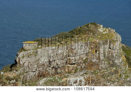 Last rocks of Cape of Good Hope