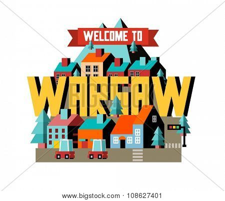 Warsaw city is a beautiful destination to visit for tourism.