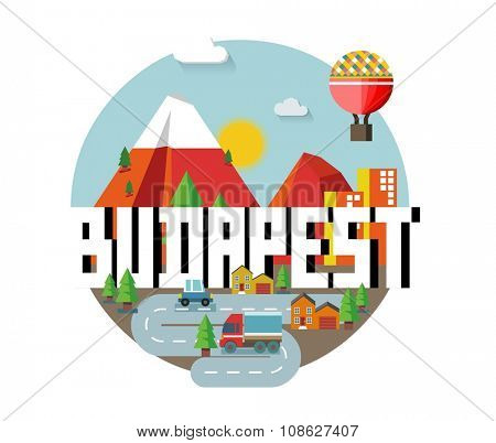 Budapest city in hungary is a beautiful destination to visit for tourism.