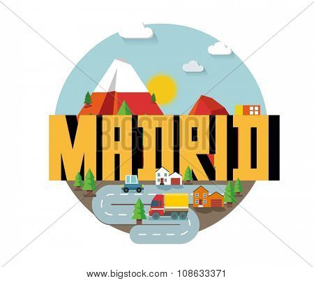 Madrid city in spain is a beautiful destination to visit for tourism.