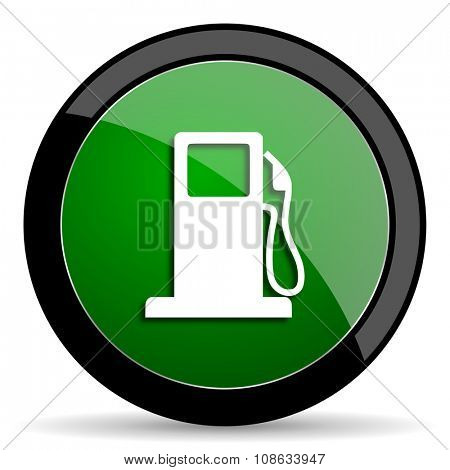 petrol green web glossy circle icon on white background