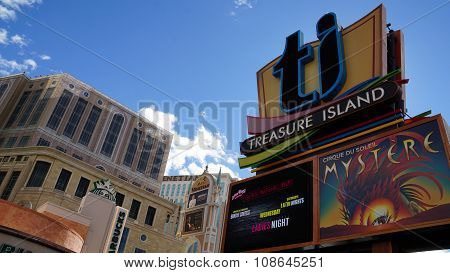 Treasure Island Hotel and Casino in Las Vegas