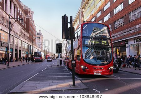 Bus Oxford Street