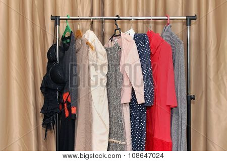 Female Clothes Rack