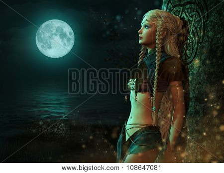 Moonlight Fairy, 3D Cg