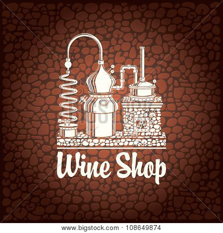 Banner For Wine Shop