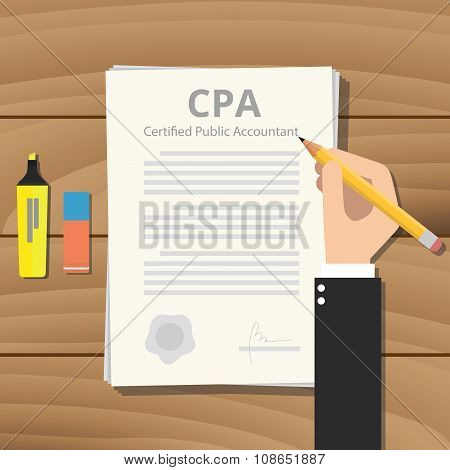 cpa certified public accountant