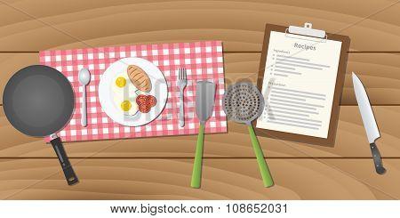 food recipe with breakfast menu