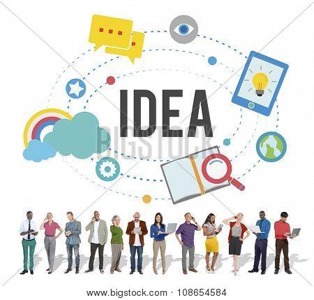 Idea Ideas Inspiration Objective Goals Concept