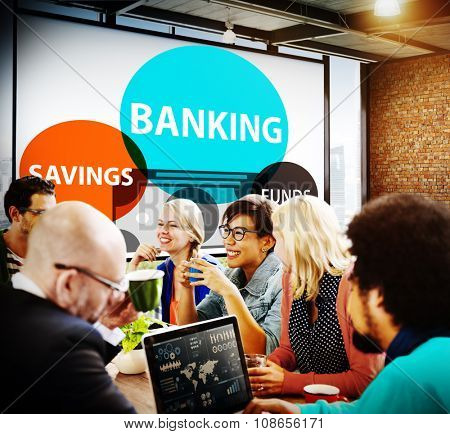 Banking Savings Funds Planning Finance Money Concept