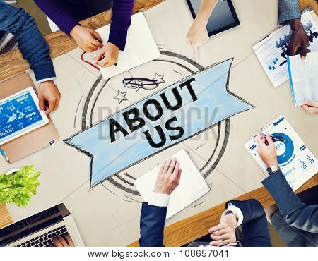 About Us Information Contact Support Data Concept