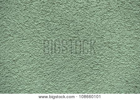 Green Revetment Wall Putty Macro Texture Background