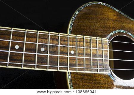 Hawaiian Ukulele Musical Instrument