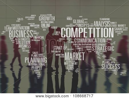 Competition Cooperation Customers Development Concept