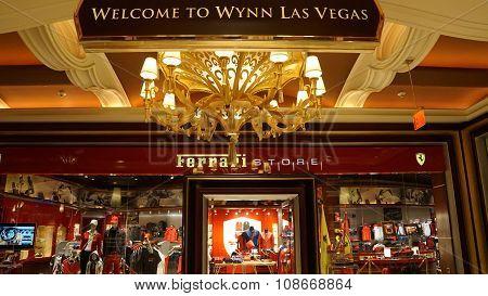 Ferrari Store at Wynn Las Vegas and Encore in Las Vegas