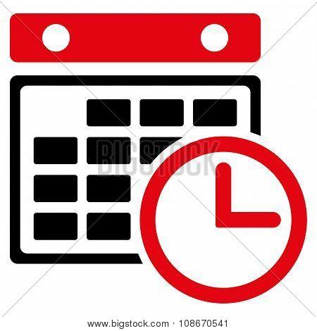 Timetable Flat Icon