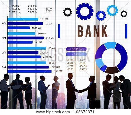 Bank Banking Finance Credit Money Concept