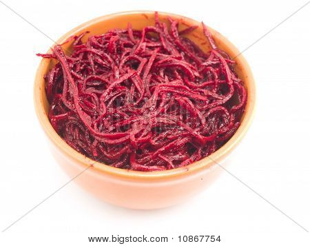 Beet In A Plate