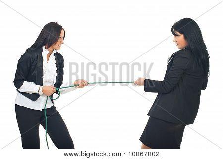Business-Frauen-Wettbewerb