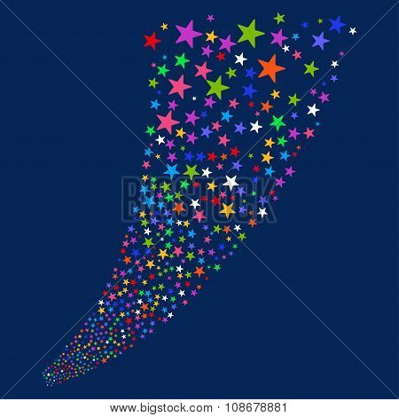 Pyrotechnic Star Salute Stream