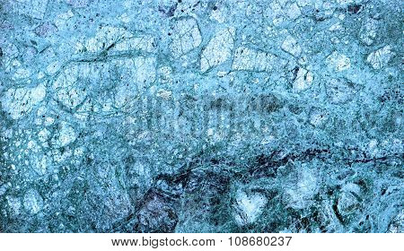 Texture Of Blue Marble Slab Macro