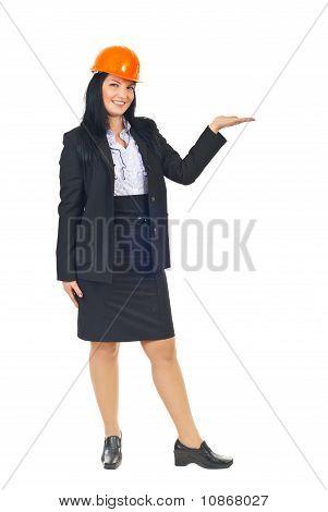 Architect Woman Presentation To Copy