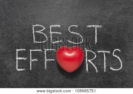Best Efforts Chb