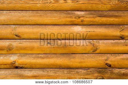 Log House Beech Wood Texture
