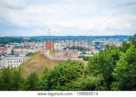 View Over Vilnius, Capital Of Lithuania