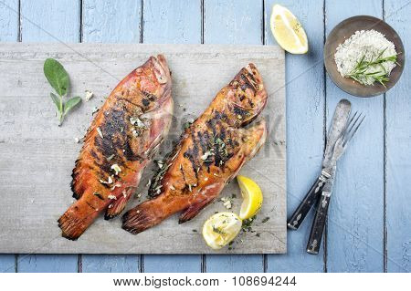 Barbecue Rosefish