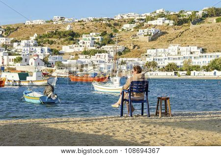 Chora, Mykonos, Greece