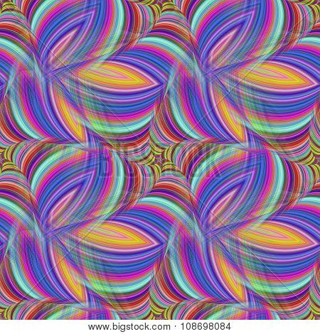 Repeating fractal pattern