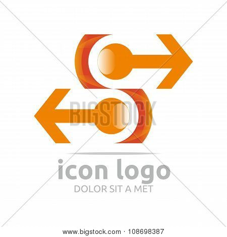 Icon Logo Abstract Arrow