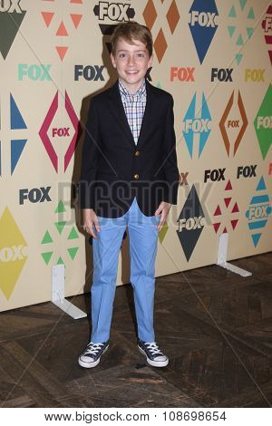 LOS ANGELES - AUG 6:  Connor Kalopsis at the FOX TCA Summer 2015 All-Star Party at the Soho House on August 6, 2015 in West Hollywood, CA