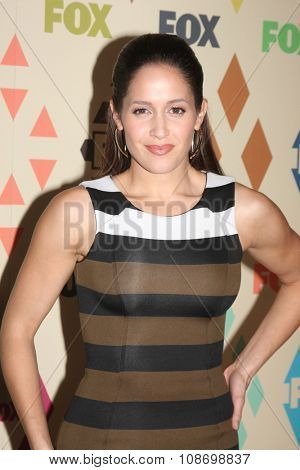 LOS ANGELES - AUG 6:  Jaina Lee Ortiz at the FOX TCA Summer 2015 All-Star Party at the Soho House on August 6, 2015 in West Hollywood, CA