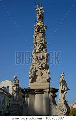 Holy Trinity Column In Kosice