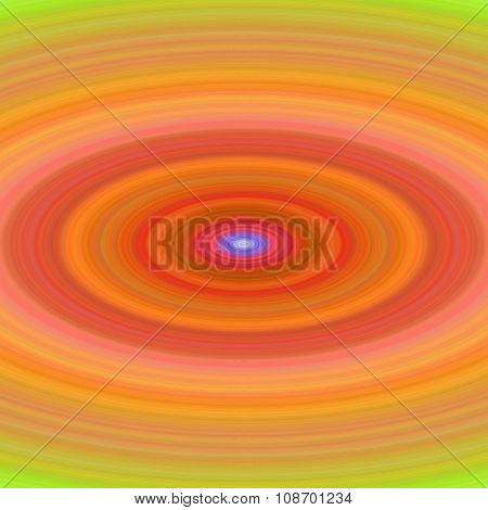 Abstract orange ellipse background