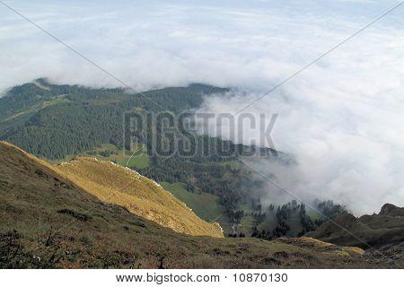 Blick vom Mt Pilatus
