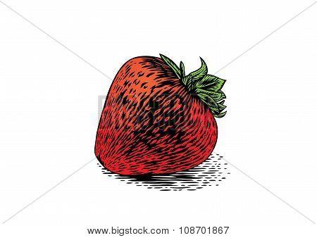 Whole Fresh Strawberry