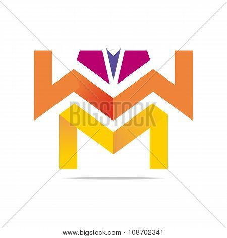 Element Design Logo Letter Abstract