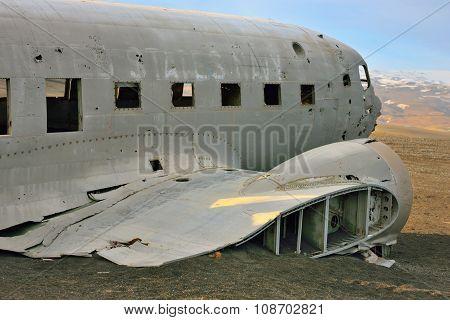 Solheimasandur Plane Wreck Near Vik, Iceland