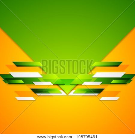 Abstract colorful geometric corporate design