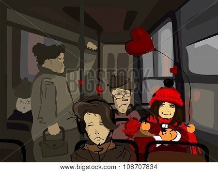 People In The Bus