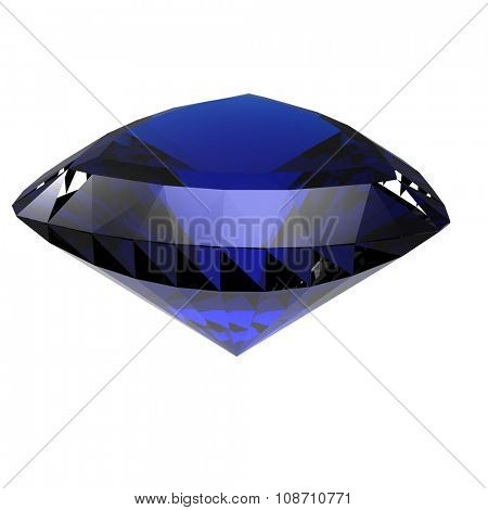 Luxury Jewelry Background with gemstones. Diamond. Sapphire
