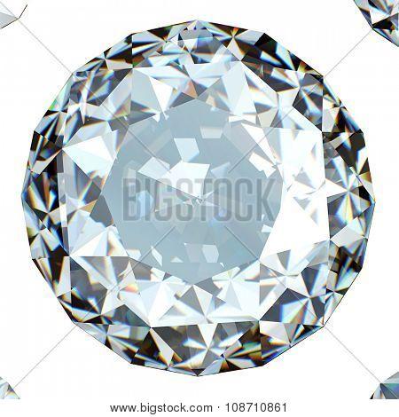 Luxury Jewelry Background with gemstones. Diamond