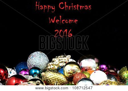 Welcome 2016 Happ New Years texture and background